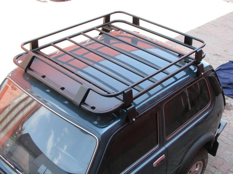 Как сделать экспедиционный багажник на ниву своими