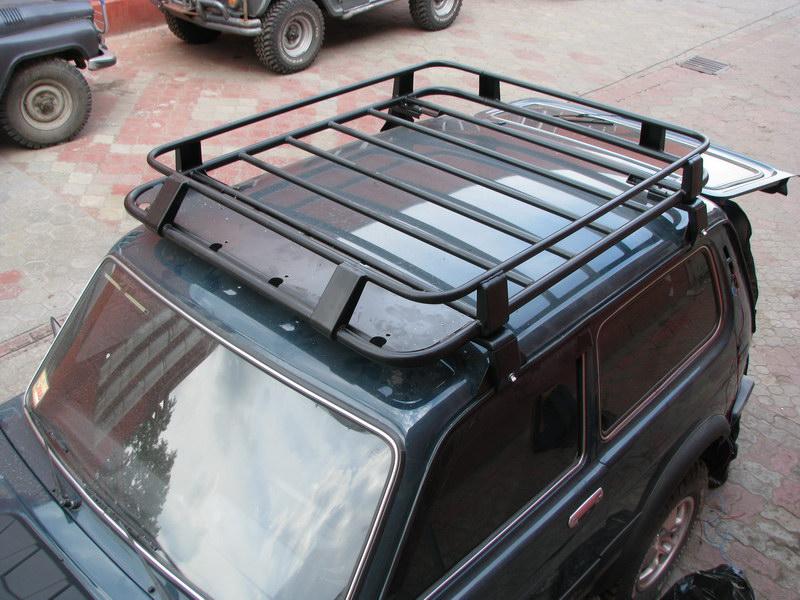 Установка экспедиционного багажника на Ниву 2121 своими